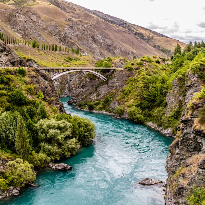 Bridge Over Kawarau River